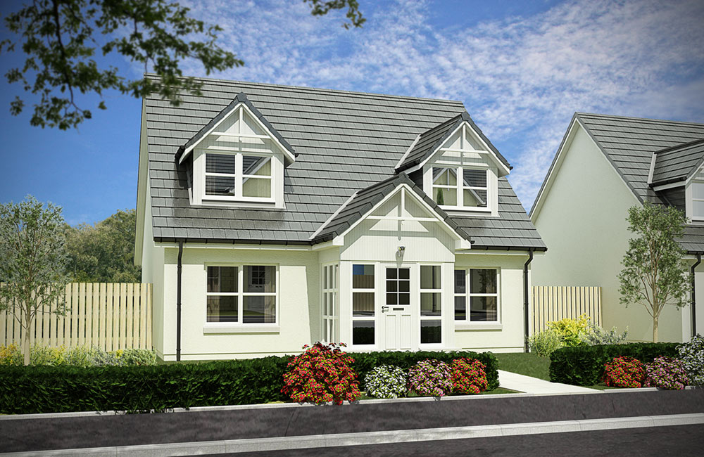 Plot 169 - The Craigievar - Kingsford Rise