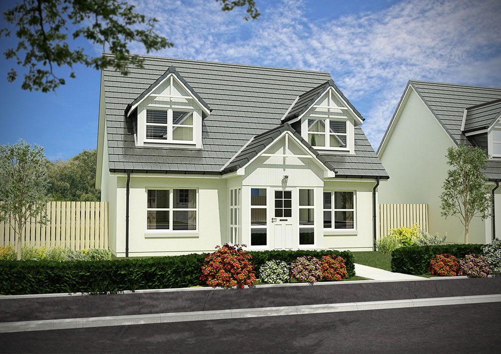 Plot 170 - The Craigievar - Kingsford Rise