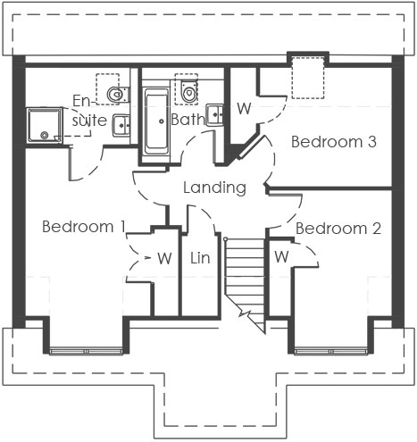 First Floor – plot 32 only