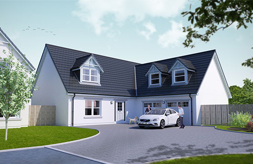 Plot 60 - The Strathdon - Ury Estate